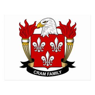 Abarrote del escudo de la familia postal