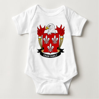 Abarrote del escudo de la familia t shirts