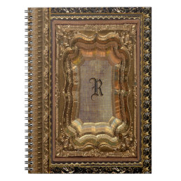 Abarue  Victorian Monogram Notebook