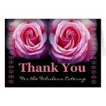 ABASTECEDOR - el boda le agradece con los rosas ro Felicitaciones