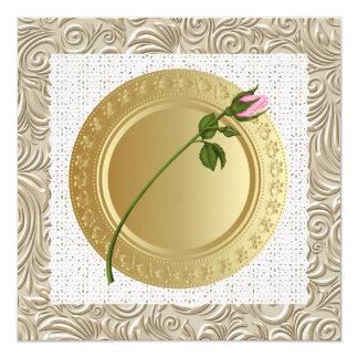 Abastecimiento a usted - una ocasión elegante - invitación 13,3 cm x 13,3cm