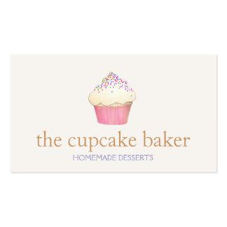 Abastecimiento del cocinero de la panadería del tarjetas de visita