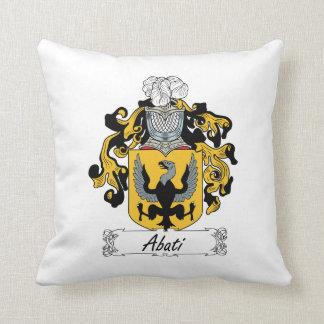 Abati Family Crest Pillow