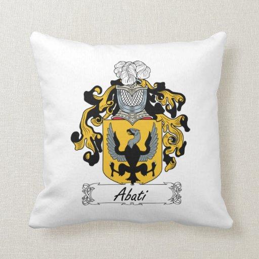 Abati Family Crest Pillows