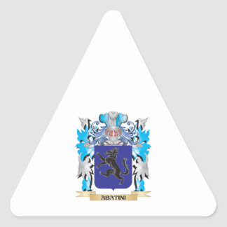 Abatini Coat Of Arms Sticker