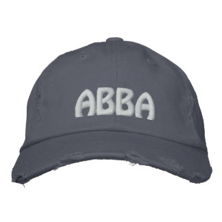 """ABBA - Aramaic word for """"father."""" Embroidered Baseball Cap"""