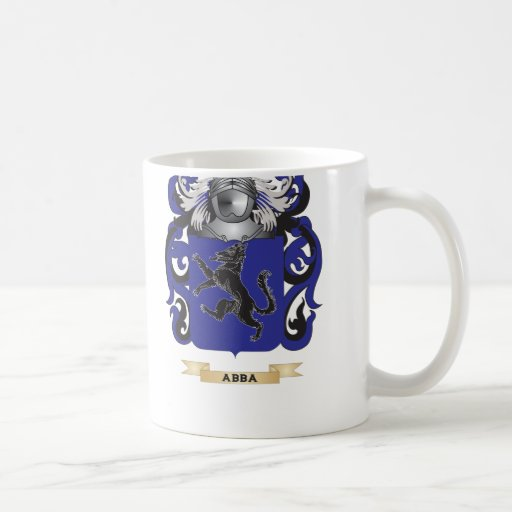 Abba Coat of Arms (Family Crest) Coffee Mug