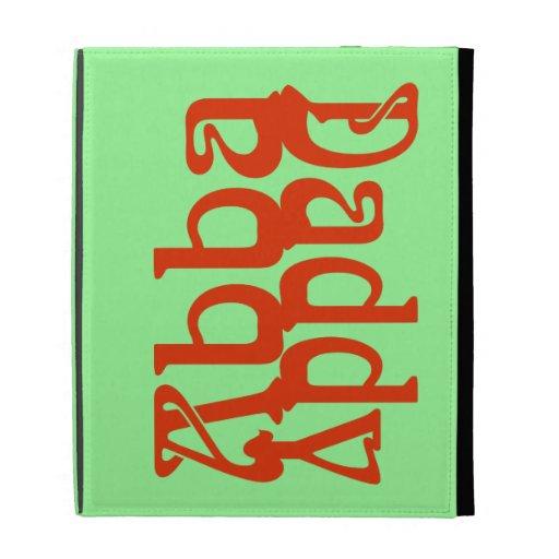 Abba Daddy (Father God) iPad Folio Covers