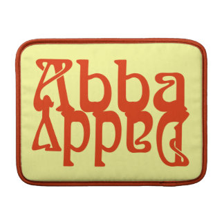 Abba Daddy (Father God) MacBook Sleeves