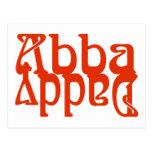 Abba Daddy (Father God) Postcard