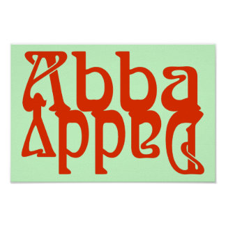 Abba Daddy (Father God) Poster