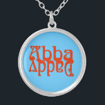 """Abba Daddy (Father God) Silver Plated Necklace<br><div class=""""desc"""">Modern biblical research has convincingly shown that """"Abba"""" actually means """"Daddy"""". In the New Testament the Aramaic word """"Abba"""" appears three times,  in Mark 14:36 spoken by Jesus Himself,  and twice in the letters of Paul - Romans 8:15 and Galations 4:6.</div>"""