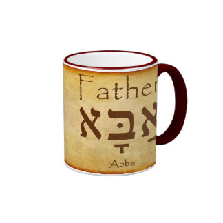 ABBA - FATHER HEBREW MUG