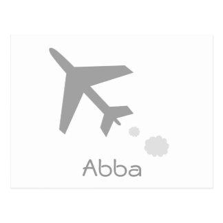 Abba Postcard