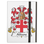 Abbans Family Crest iPad Folio Cases