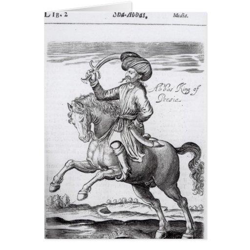 Abbas, King of Persia Greeting Card