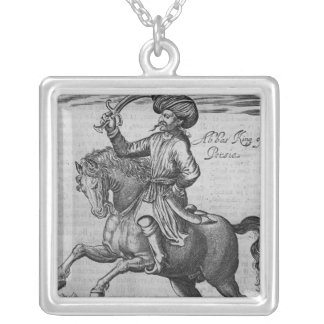 Abbas King of Persia, illustration Jewelry