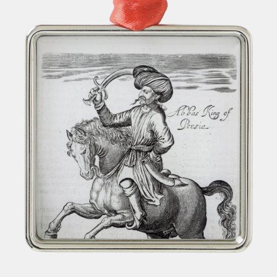 Abbas, King of Persia Metal Ornament
