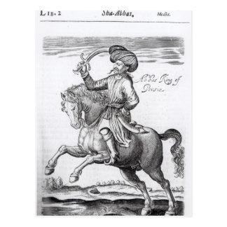 Abbas, King of Persia Postcard