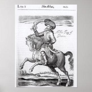 Abbas, rey de Persia Impresiones