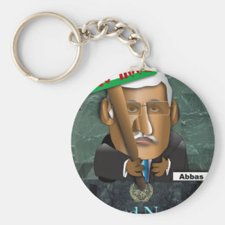 Abbas State Hood Basic Round Button Keychain
