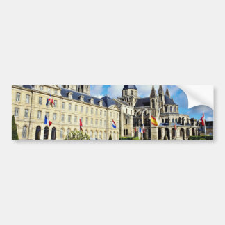 Abbaye Aux Hommes, Caen, Calvados, Normandy, Franc Bumper Stickers