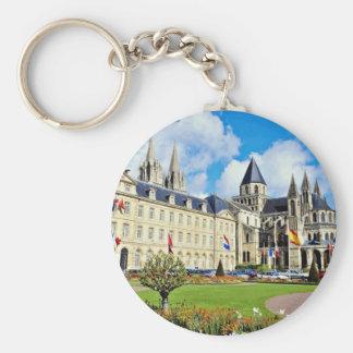 Abbaye Hommes aux., Caen, Calvados, Normandía, fra Llaveros