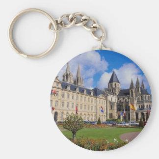Abbaye Hommes aux., Caen, Calvados, Normandía, fra Llaveros Personalizados