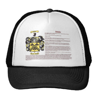 Abbdie (meaning) mesh hats