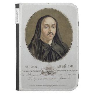 Abbe de Suger (1082-1151) from 'Portraits des gran Kindle 3 Cases