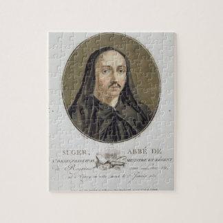 Abbe de Suger (1082-1151) from 'Portraits des gran Jigsaw Puzzle