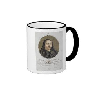 Abbe de Suger (1082-1151) from 'Portraits des gran Ringer Mug