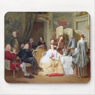 Abbe Prevost reading 'Manon Lescaut', 1856 Mouse Pad