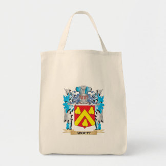 Abbett Coat Of Arms Grocery Tote Bag