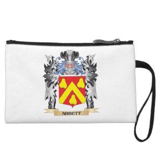 Abbett Coat of Arms - Family Crest Wristlet Purses