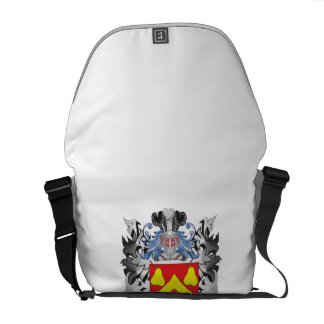 Abbett Coat of Arms - Family Crest Courier Bags