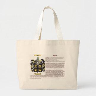 Abbett (meaning) jumbo tote bag