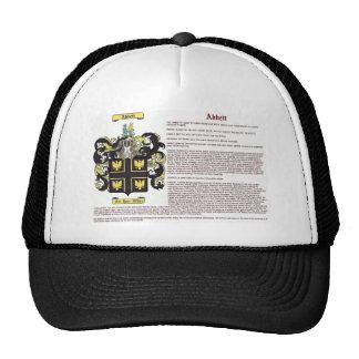 Abbett (meaning) trucker hat