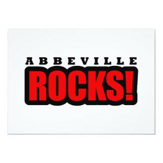 Abbeville, Alabama Design 5x7 Paper Invitation Card