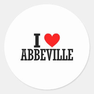 Abbeville, Alabama Design Sticker