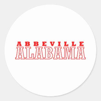 Abbeville, Alabama Design Stickers