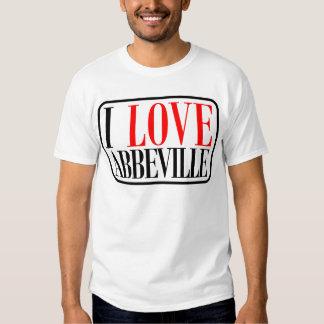 Abbeville, Alabama Design T Shirt