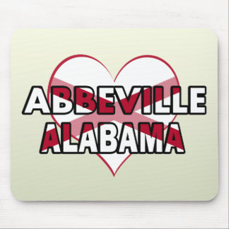 Abbeville, Alabama Mouse Pads