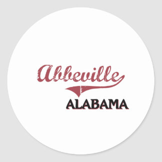 Abbeville Alabamas City Classic Sticker