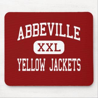 Abbeville - chaquetas amarillas - centro - Abbevil Mousepads
