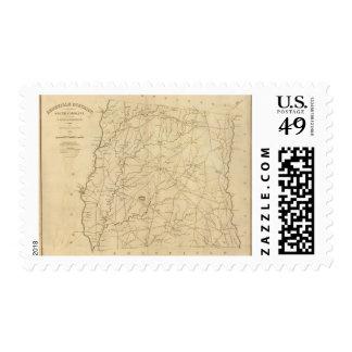 Abbeville District, South Carolina Postage Stamp