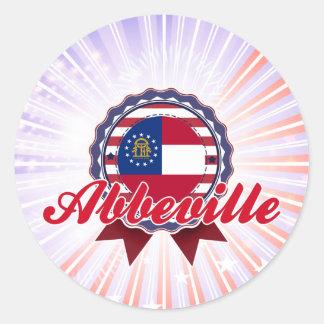 Abbeville, GA Stickers