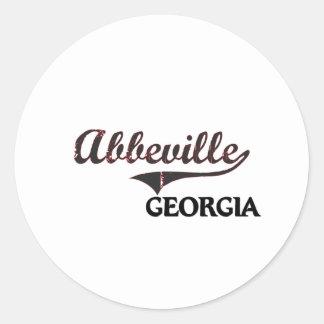 Abbeville Georgia City Classic Stickers