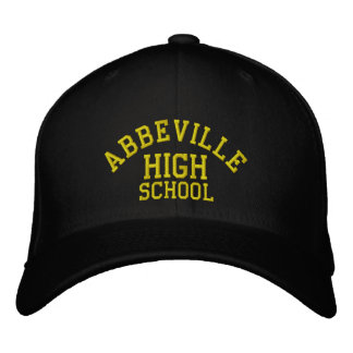 Abbeville High School Embroidered Baseball Cap