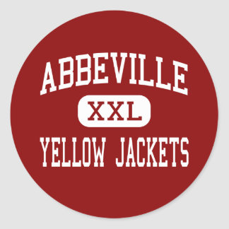 Abbeville - Yellow Jackets - High - Abbeville Stickers